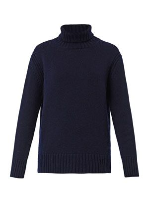 The Rib-knit roll-neck sweater