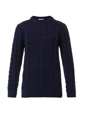The Raglan Cable-knit sweater