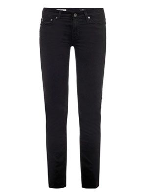 Stilt low-rise skinny jeans