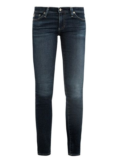 Ag Stilt low-rise skinny jeans