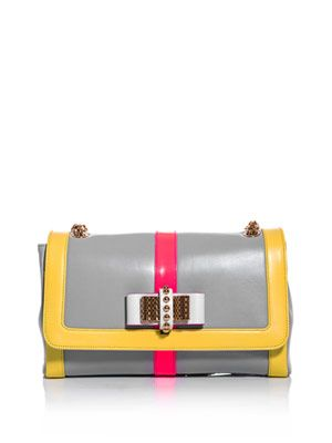 Sweet Charity tri-colour bag