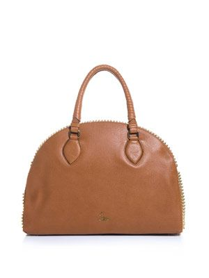 Panettone leather tote
