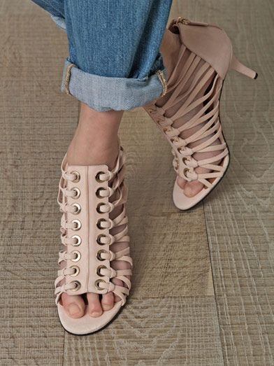 Givenchy Suede laced sandals