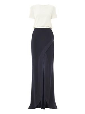 T-shirt crepe gown
