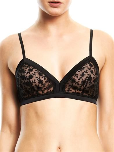 Morgan Lane Stella embroidered bra
