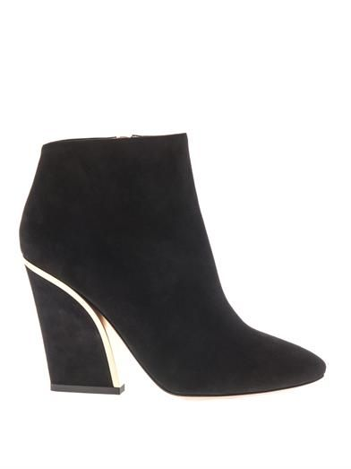 Chloé Becky suede ankle boots