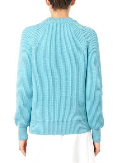 Chloé English ribbed-knit wool sweater