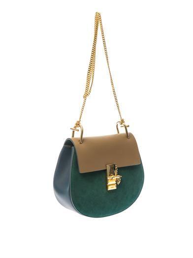 Chloé Drew suede shoulder bag