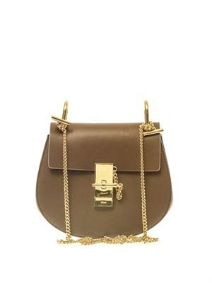Drew small leather shoulder bag