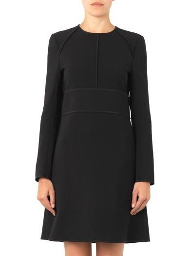 Chloé Tailoring wool shift dress