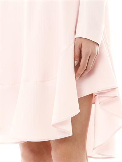 Chloé Ruffle-skirt shift dress