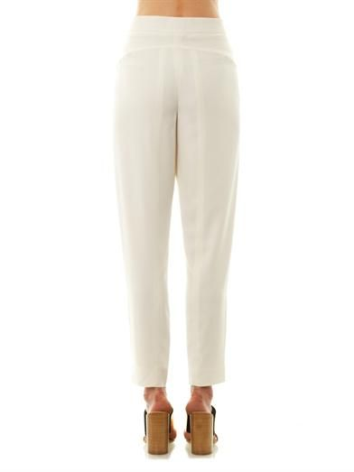 Chloé Pleat-front tailored trousers