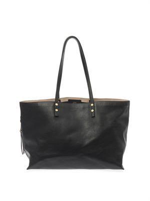Dilan leather shopper