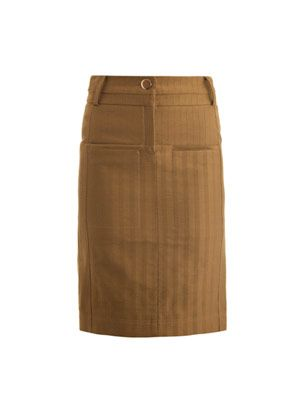 Monsoon striped jacquard pencil skirt