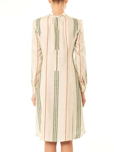 Altuzarra Cherry blossom silk shirt dress