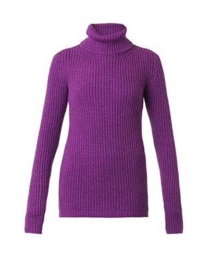 Wyeth ribbed-knit wool sweater