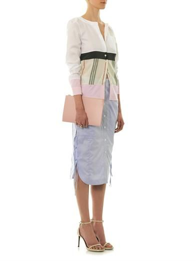 Altuzarra Yoko cotton and silk blouse