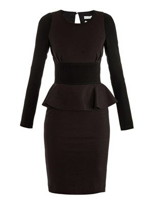 Addax day peplum dress