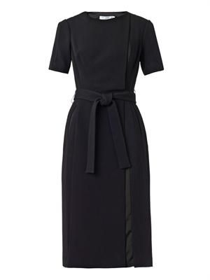 Camus tie-waist dress