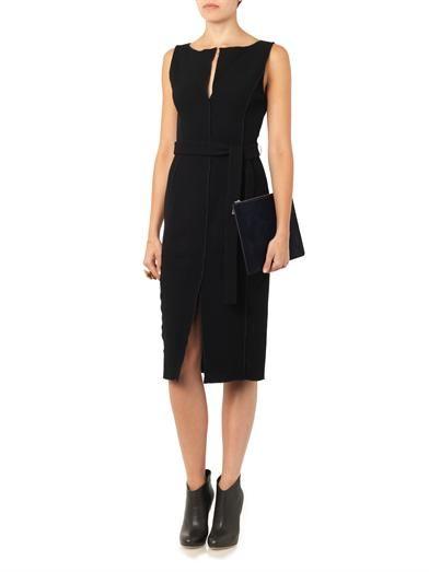 Altuzarra Naipaul double-faced wool crepe dress