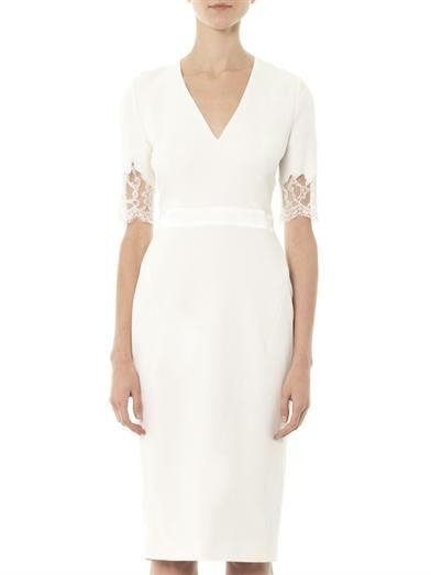 Altuzarra Elsa lace sleeve dress