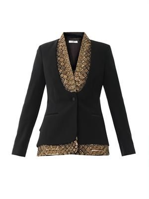 St Michel embellished jacket