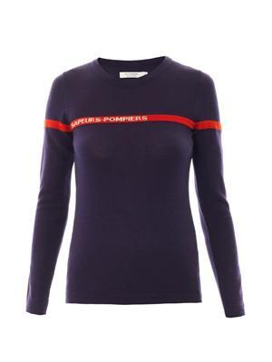 Flame wool sweater