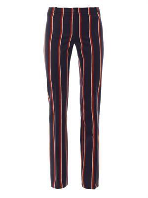 Redwood wool-blend trousers