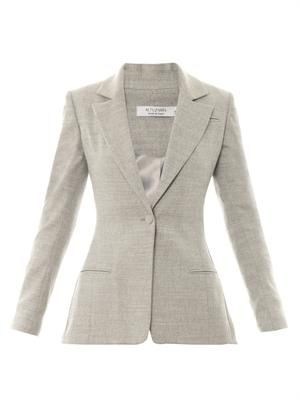 Acacia single-breasted blazer