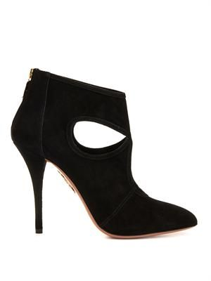 Sexy Thing suede ankle boots