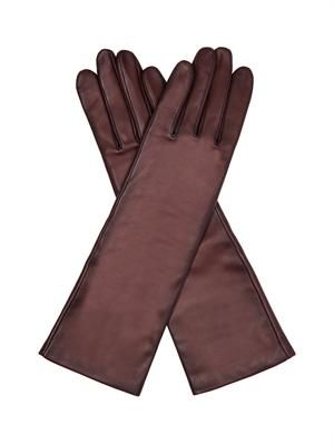 Celia leather gloves