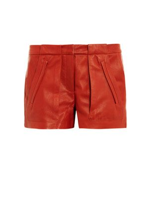 Leather smith shorts
