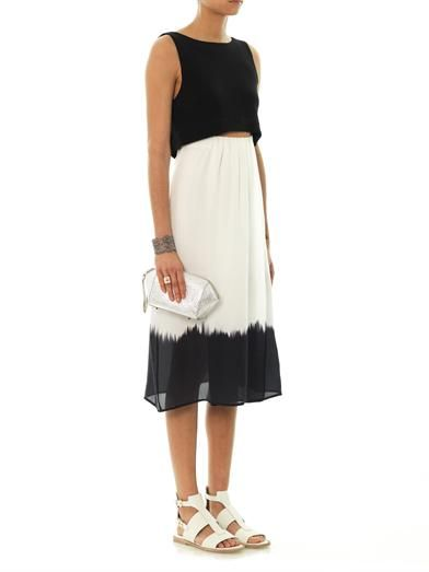 A.L.C. Davis bleed hem sleeveless dress
