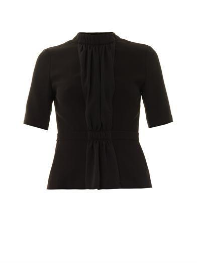 A.L.C. Parker draped front blouse