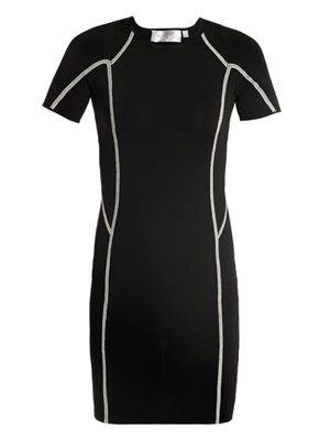 Evans knit body-con dress