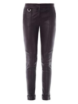 Daniel leather trousers
