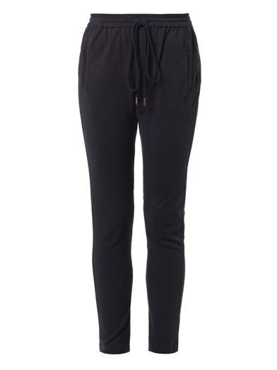 A.L.C. Relaxed-leg cotton-jersey track pants