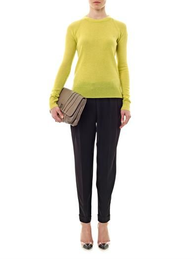 A.L.C. Alana wool-cashmere sweater