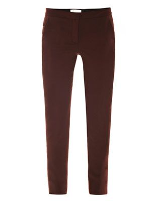 Carter wool slim trousers