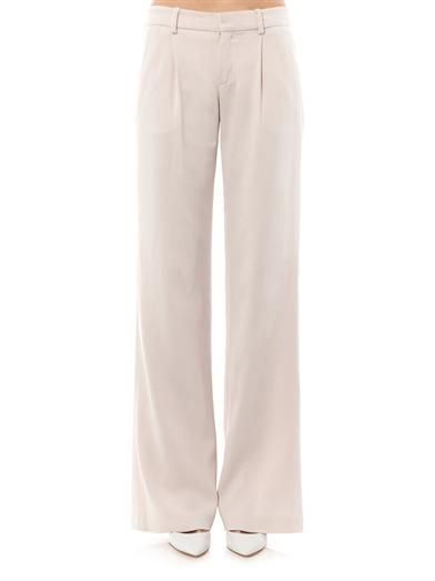 A.L.C. Wide-leg tailored trousers