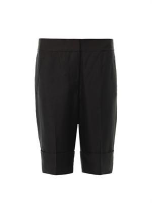 Saviour silk tailored shorts