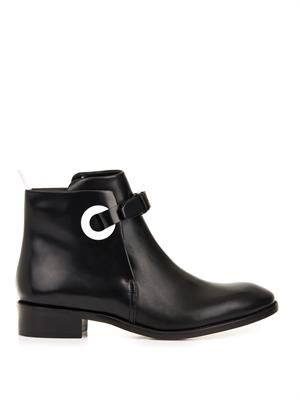 Allea leather ankle boots