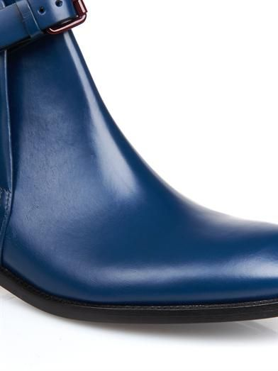 Acne Studios Allea leather ankle boots