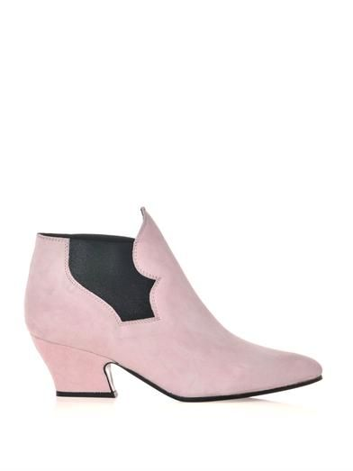 Acne Studios Alma suede ankle boots