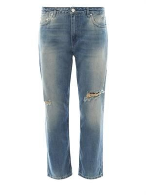 Pop Trash mid-rise boyfriend jeans