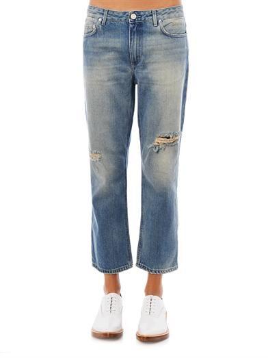 Acne Studios Pop Trash mid-rise boyfriend jeans