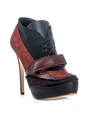 Ace lace-up high-heel shoes