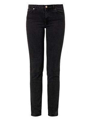 Jet high-rise straight-leg jeans