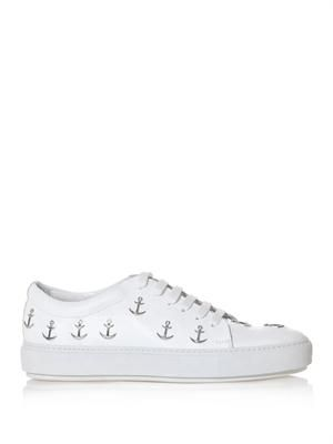 Adriana anchor-stud trainers