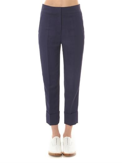 Acne Studios Saviour linen-blend trousers
